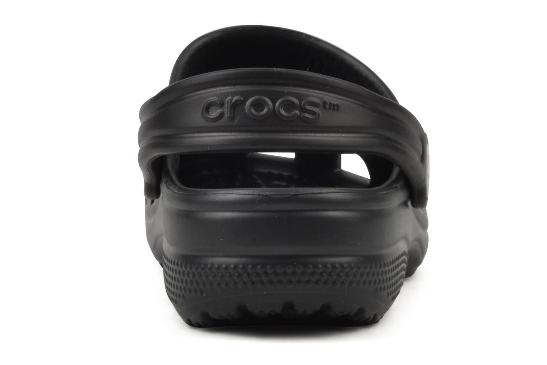 Sandales et nu-pieds Crocs Classic H Noir vue droite