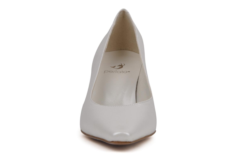 Escarpins Perlato Nolwen Blanc vue portées chaussures