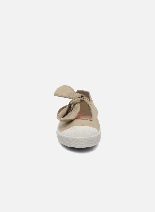Ballet pumps Bensimon Ballerine Flo E Beige model view