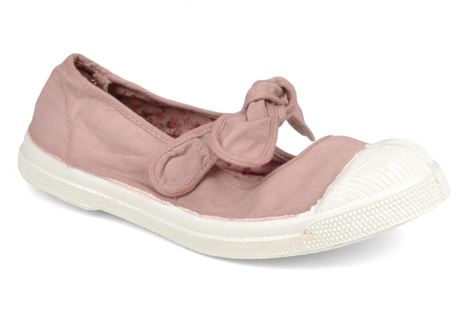 Ballet pumps Bensimon Ballerine Flo E Pink detailed view/ Pair view