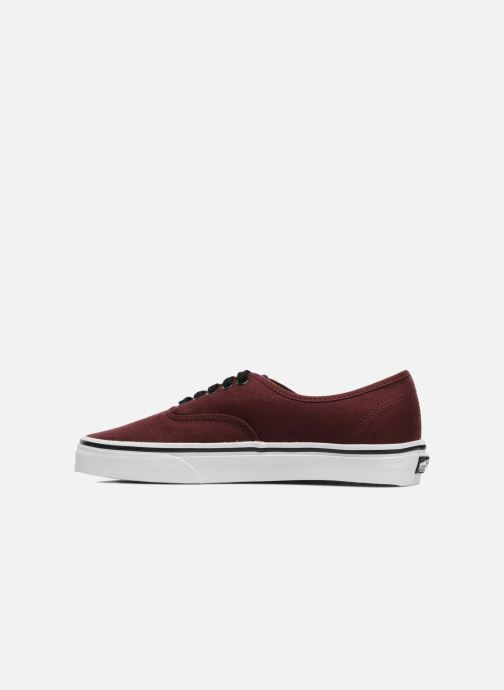 Sneakers Vans Authentic Bordò immagine frontale