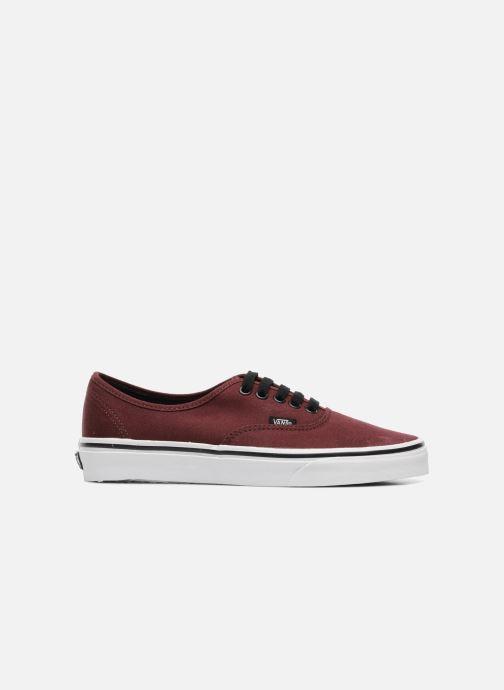 Sneaker Vans Authentic weinrot ansicht von hinten
