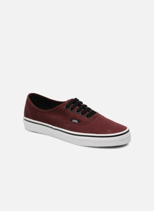 Trainers Vans Authentic Burgundy detailed view/ Pair view