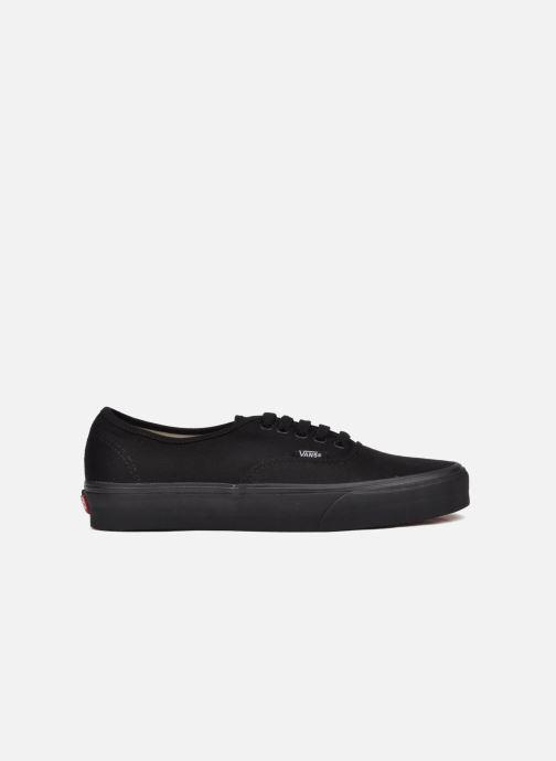 Sneakers Vans Authentic Zwart achterkant