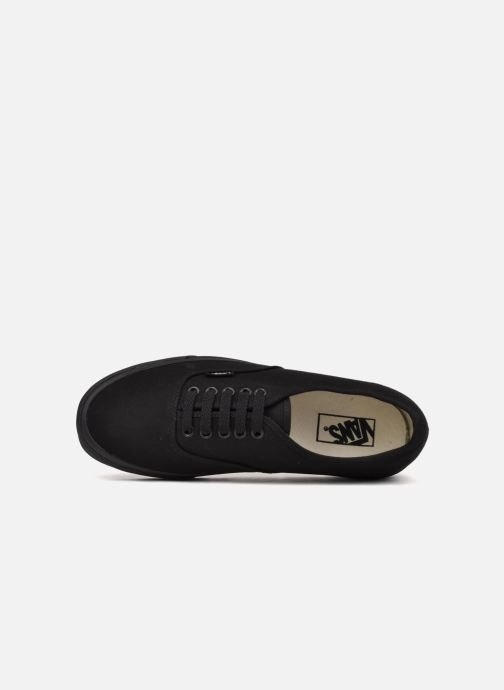 Trainers Vans Authentic Black view from the left