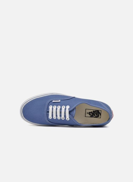 Baskets Vans Authentic Bleu vue gauche