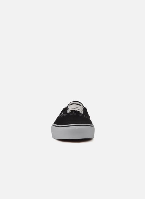 Baskets Vans Authentic Noir vue portées chaussures