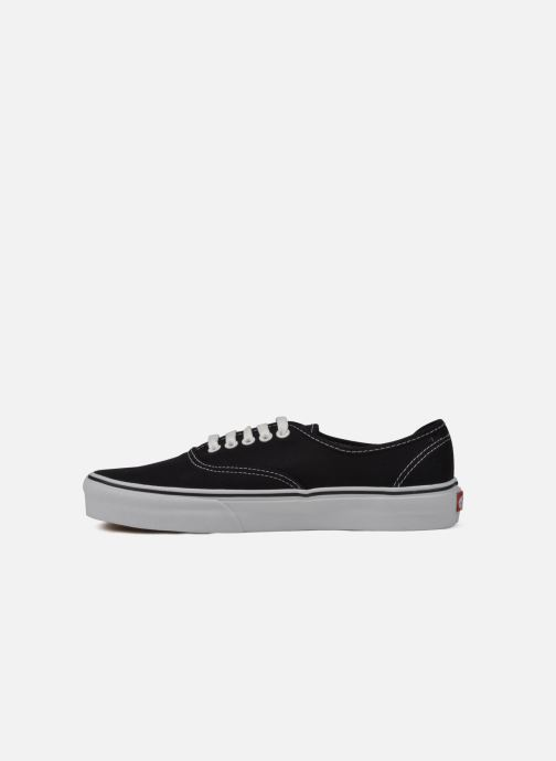 Baskets Vans Authentic Noir vue face