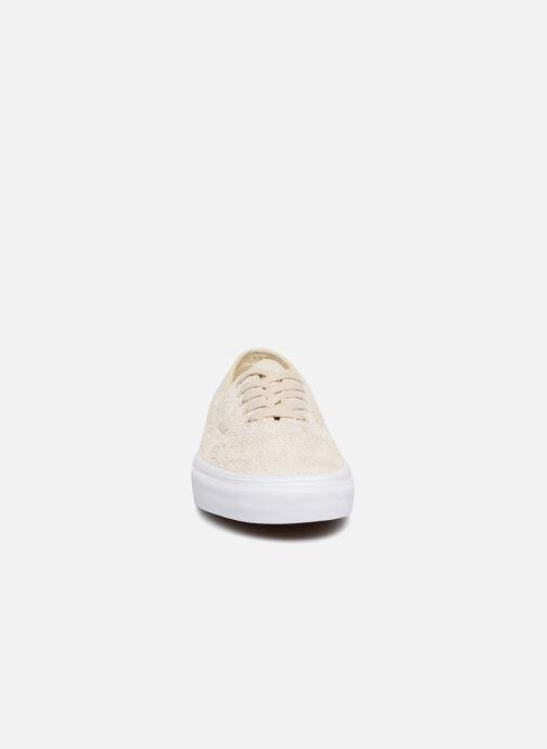 Baskets Vans Authentic Beige vue portées chaussures