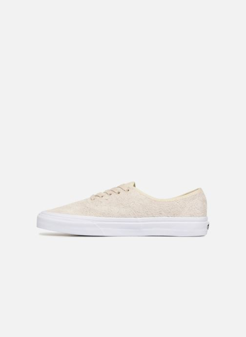 Baskets Vans Authentic Beige vue face