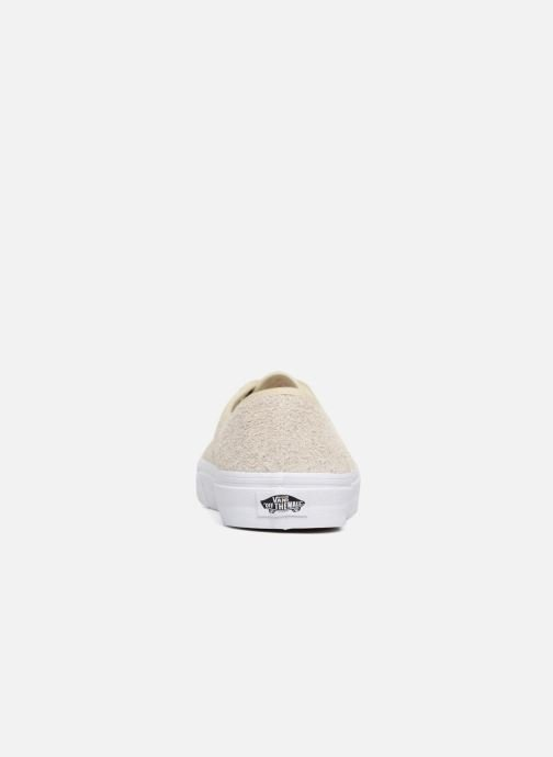 Baskets Vans Authentic Beige vue droite