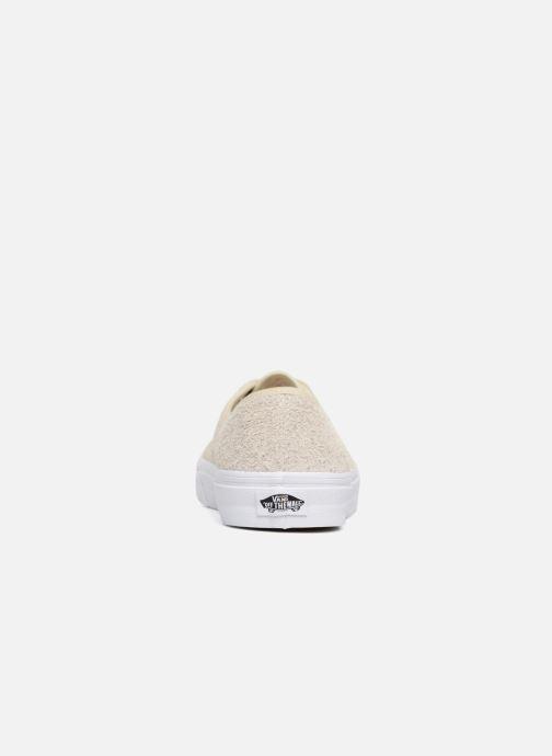 Sneaker Vans Authentic beige ansicht von rechts