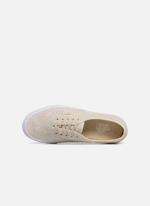 Baskets Vans Authentic Beige vue gauche