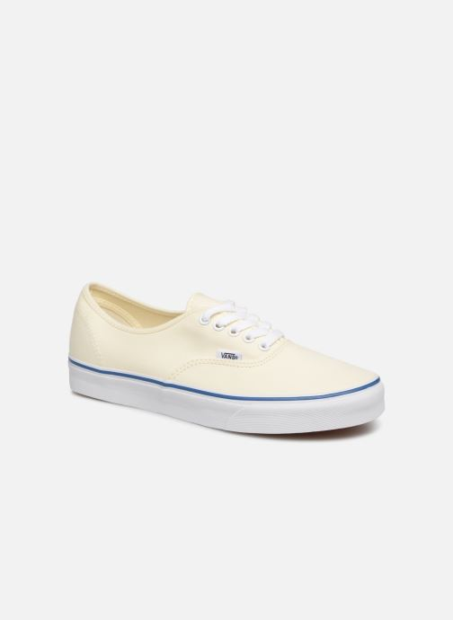 Baskets Vans Authentic Blanc vue détail/paire