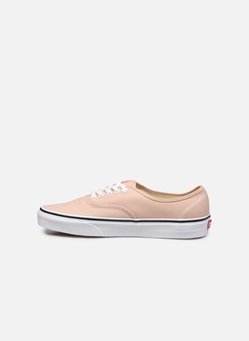 Sneakers Vans Authentic Beige immagine frontale