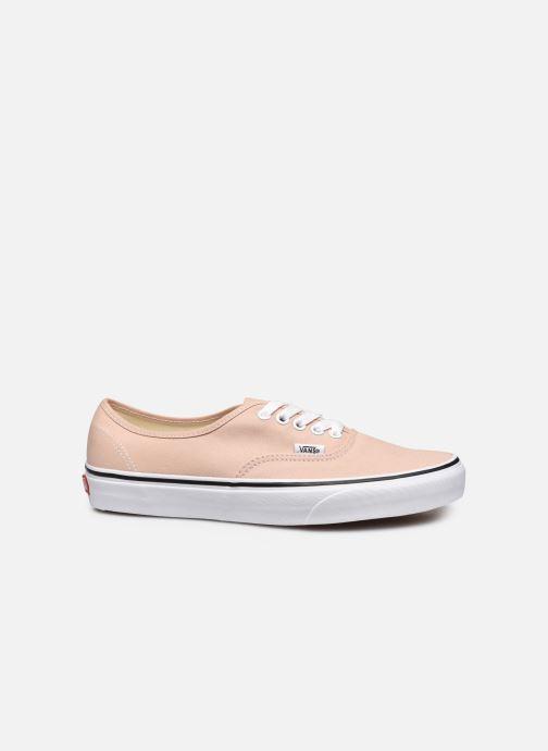 Sneaker Vans Authentic beige ansicht von hinten