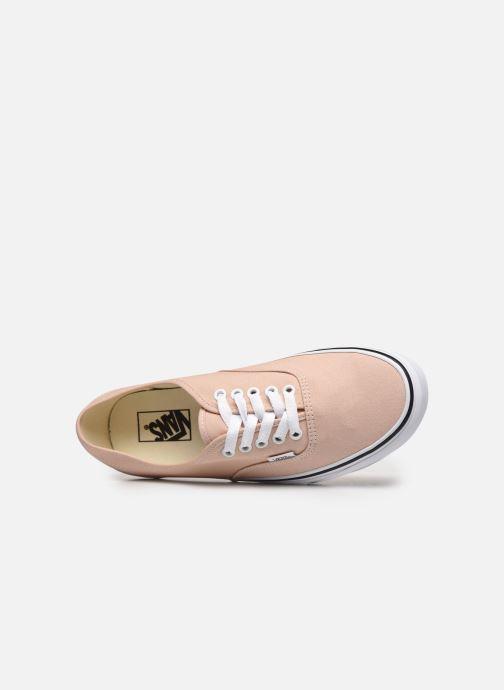 Sneaker Vans Authentic beige ansicht von links