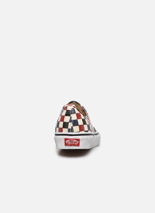 Baskets Vans Authentic Multicolore vue droite