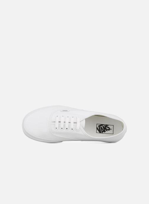 Baskets Vans Authentic Blanc vue gauche