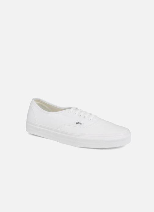 Baskets Vans Authentic Blanc vue détail/paire
