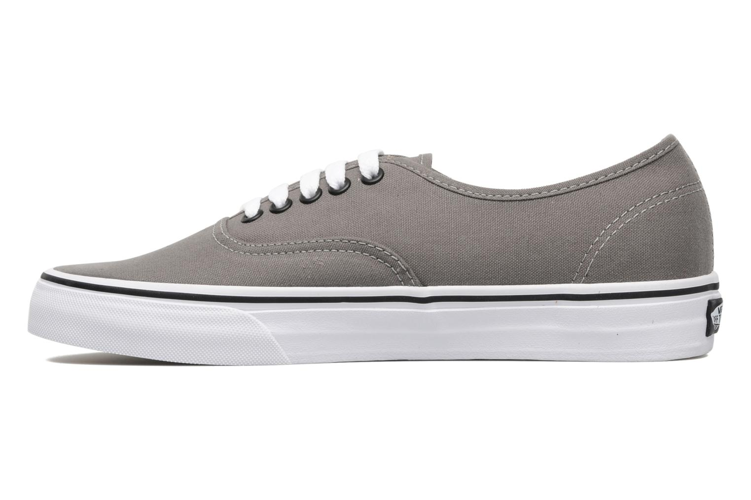 Baskets Vans Authentic Gris vue face