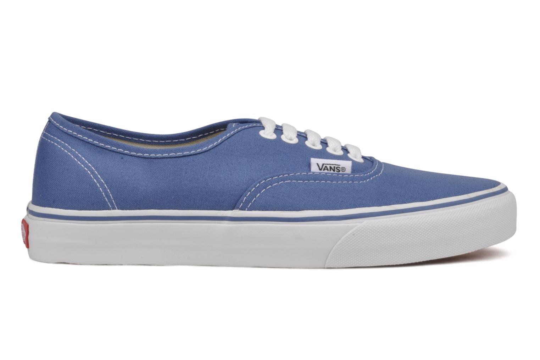 Sneaker Vans Authentic blau ansicht von hinten