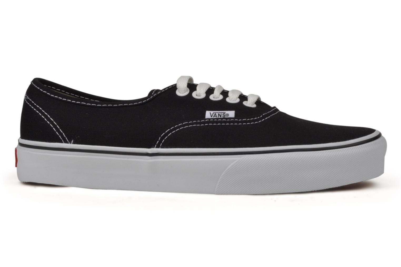 Sneaker Vans Authentic schwarz ansicht von hinten