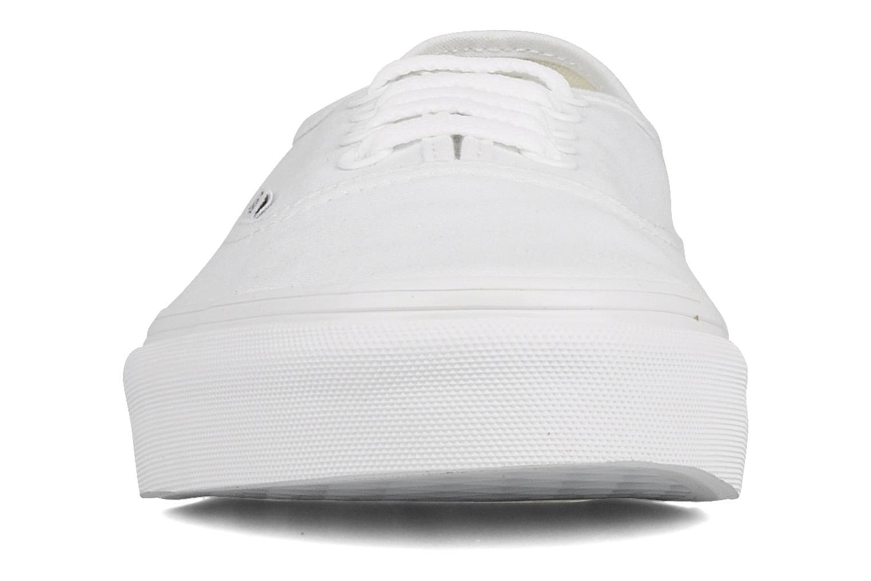 Deportivas Vans Authentic Blanco vista del modelo