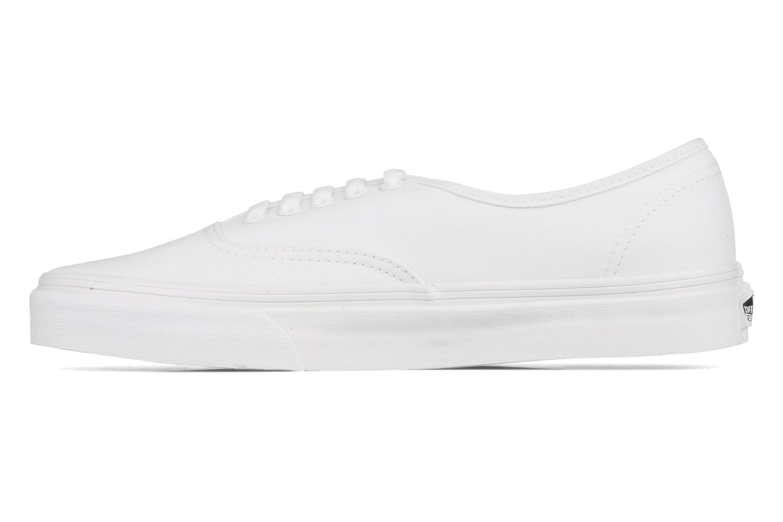 Deportivas Vans Authentic Blanco vista de frente