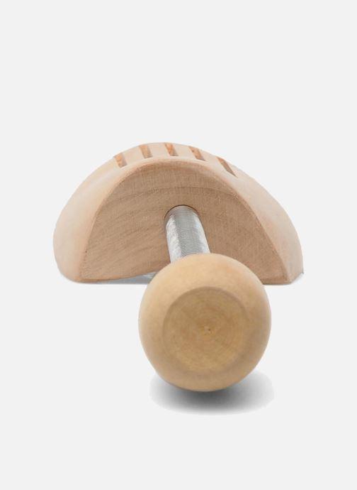 Productos de limpieza Famaco Tensor de madera Beige vista lateral derecha