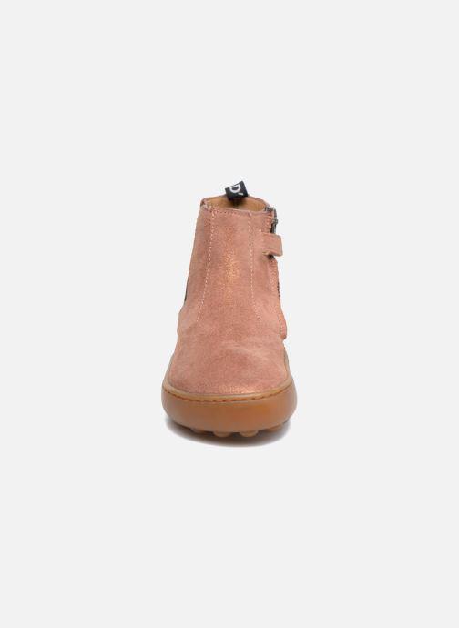 Bottines et boots Pom d Api Walk Jodpur Basic Rose vue portées chaussures