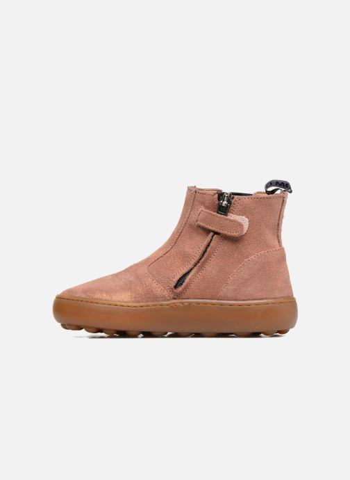 Bottines et boots Pom d Api Walk Jodpur Basic Rose vue face