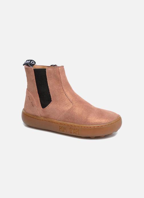 Bottines et boots Pom d Api Walk Jodpur Basic Rose vue détail/paire