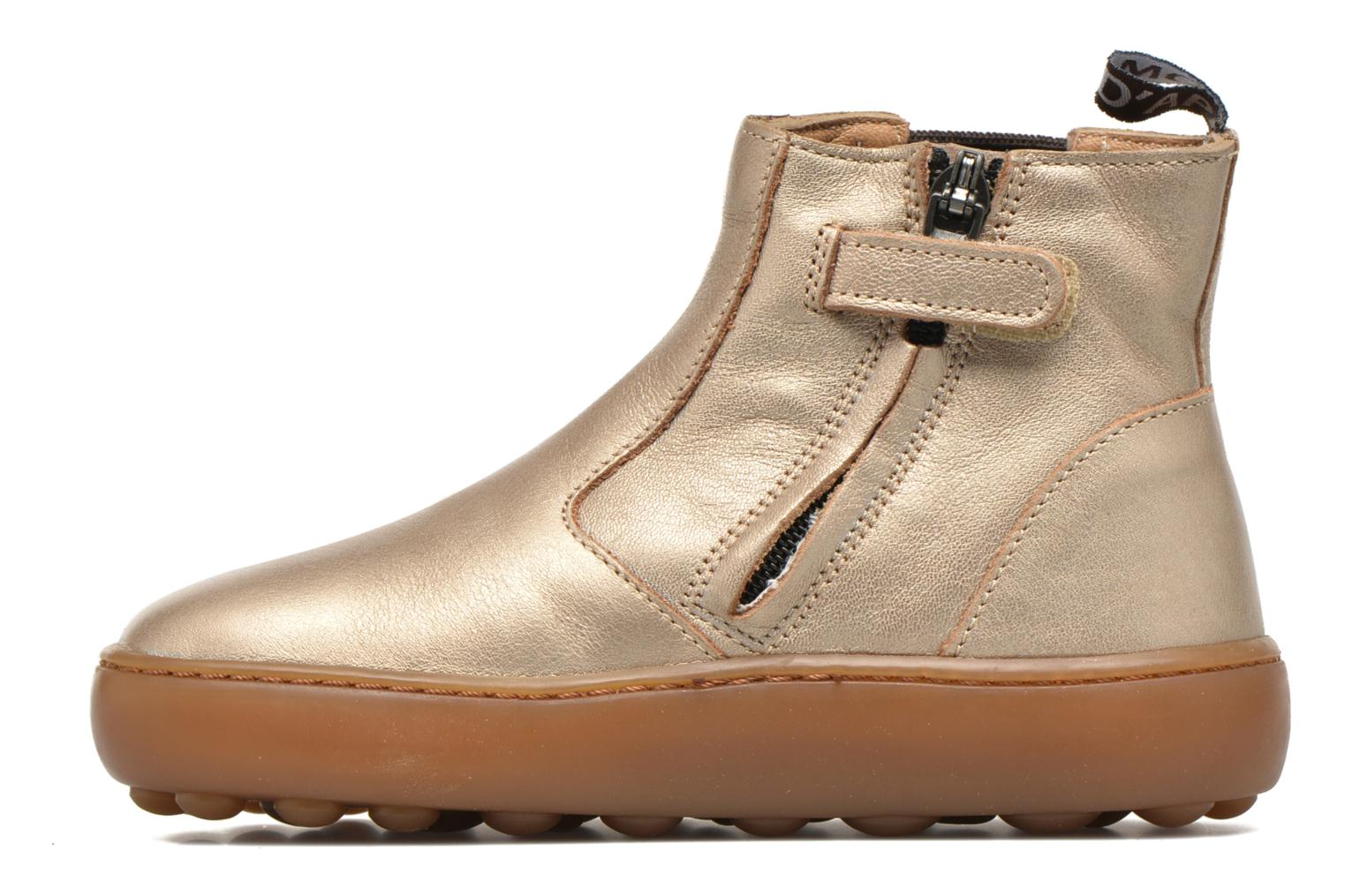 Ankle boots Pom d Api Walk Jodpur Basic Bronze and Gold front view