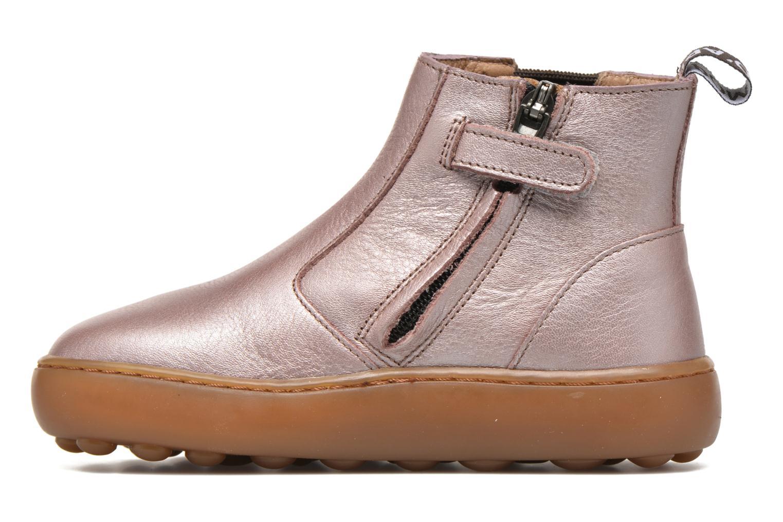 Bottines et boots Pom d Api Walk Jodpur Basic Rose vue face