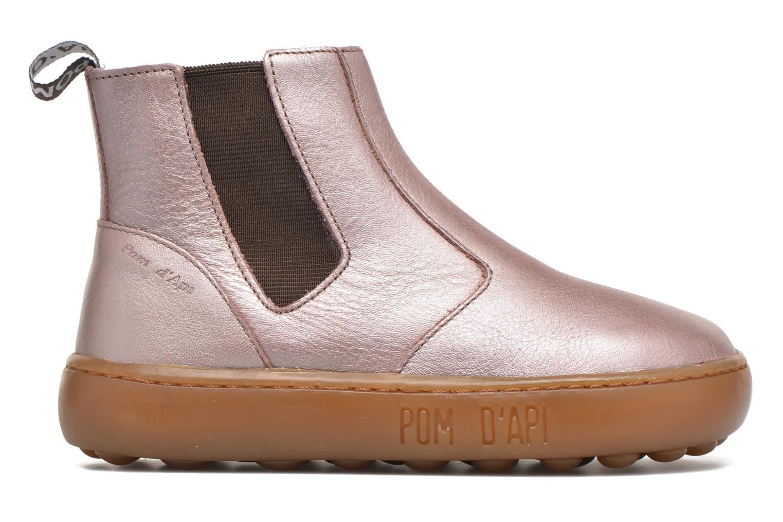 Bottines et boots Pom d Api Walk Jodpur Basic Rose vue derrière