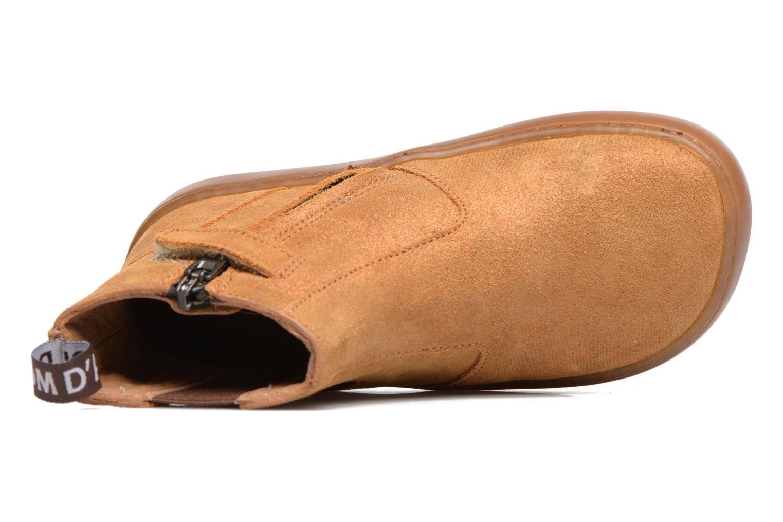 Bottines et boots Pom d Api Walk Jodpur Basic Marron vue gauche