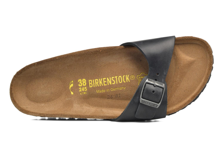 Mules et sabots Birkenstock Madrid Cuir W Noir vue gauche