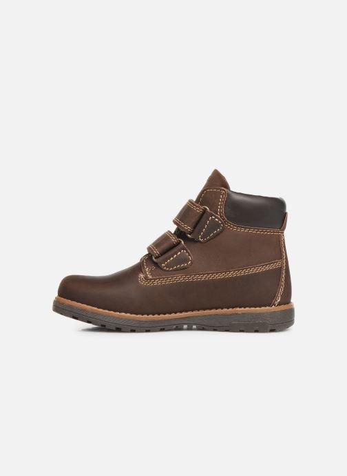 Velcro shoes Primigi Aspy Brown front view