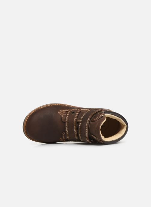 Velcro shoes Primigi Aspy Brown view from the left