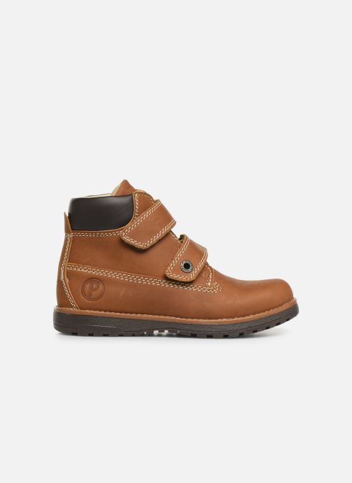 Chaussures à scratch Primigi Aspy Marron vue derrière