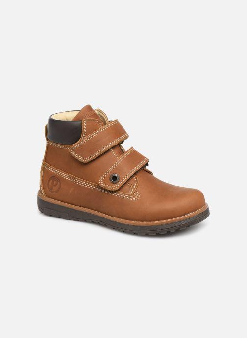 Schoenen met klitteband Primigi Aspy Bruin detail