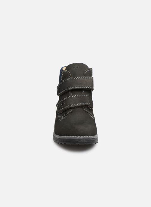 Chaussures à scratch Primigi Aspy Gris vue portées chaussures