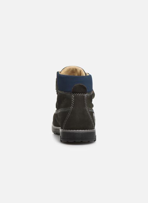 Zapatos con velcro Primigi Aspy Gris vista lateral derecha