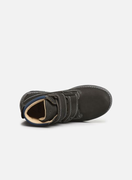 Zapatos con velcro Primigi Aspy Gris vista lateral izquierda