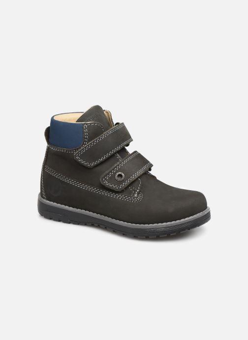 Chaussures à scratch Primigi Aspy Gris vue détail/paire