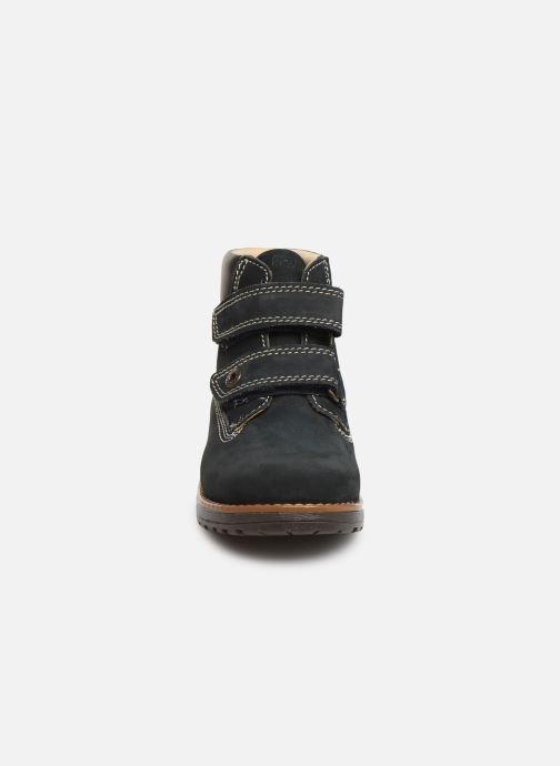 Chaussures à scratch Primigi Aspy Bleu vue portées chaussures