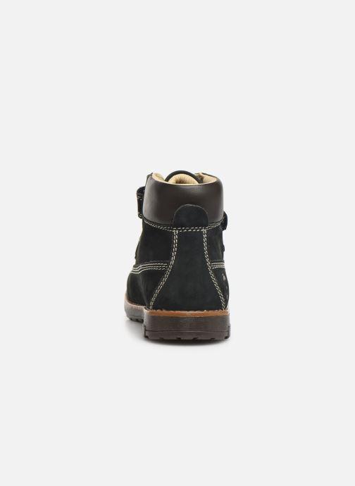 Chaussures à scratch Primigi Aspy Bleu vue droite