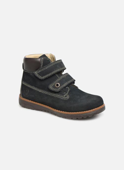 Chaussures à scratch Primigi Aspy Bleu vue détail/paire