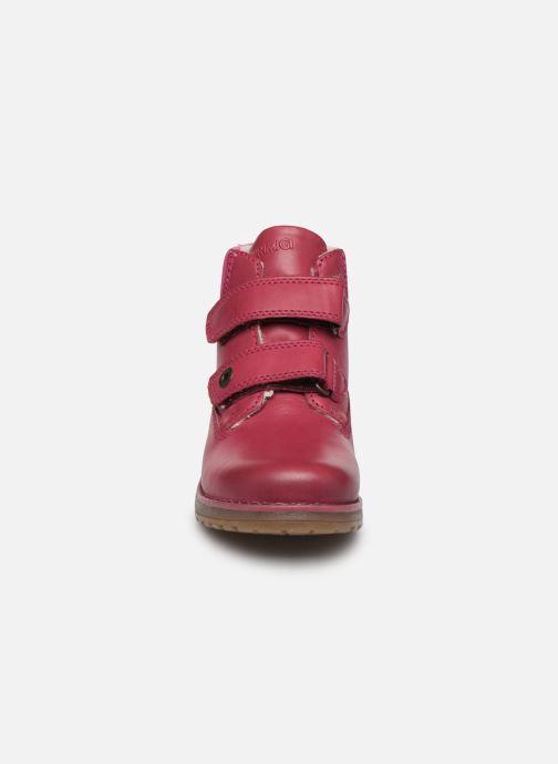 Chaussures à scratch Primigi Aspy Rose vue portées chaussures